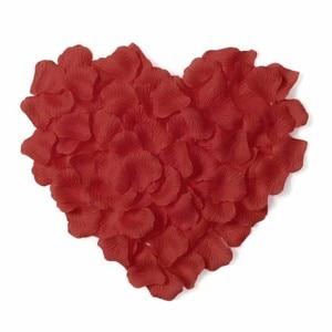 Image 3 - אביזרי חתונה 2020 הטוב ביותר מכירת 5000/חבילה 5*5cm רוז עלי כותרת לחתונה קישוט, רומנטי המלאכותי רוז עלי כותרת