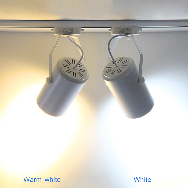 3W 5W 7W 12W 18W High Power COB LED Track Light,Warm White Led Rail Lamp Spotlight Indoor Lighting For Bedroom Shop Store --M25 7w 630lm 3500k warm white light cob led rectangle strip for spotlight ceiling silver dc 15 17v page 3