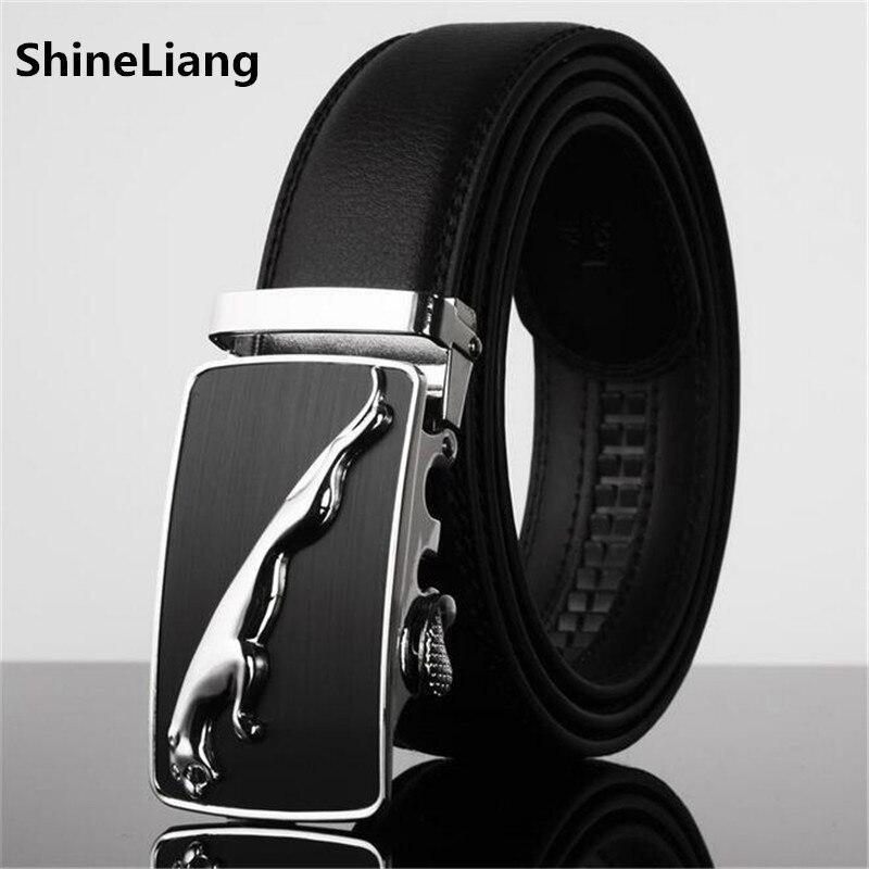 Men Belt Leather Fams