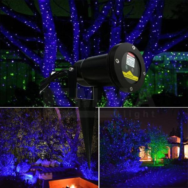 Outdoor Elf Laser Lights For Trees Blue Garden Laser Light