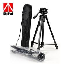 DIGIPOD Легкий Алюминиевый Гибкий Цифровой Камеры Видеокамера Штатив для Canon Nikon Sony Fuji Olympis Panasonic