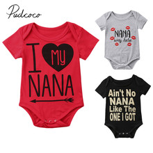 2018 Brand New Newborn Toddler Infant Baby Girl Boy Jumpsuit Romper Casual Clothes Short Sleeve Outfits Summer One-piece Clothes