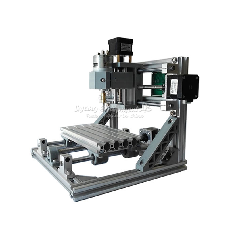 Mini CNC 1610 + 500mw laser CNC engraving machine Pcb Milling Machine diy mini cnc router with GRBL control