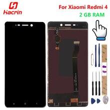 Дешевые Для Xiaomi Redmi 4 Экран ЖК-дисплей дисплей + Сенсорный экран планшета премиум замена для Xiaomi Redmi 4 2 ГБ Оперативная память 5,0 дюймов