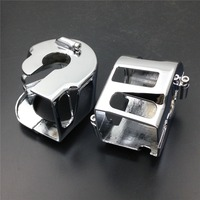 Aftermarket free shipping motorcycle parts Switch Housing Cover for Yamaha Vulcan 900 2000 Road star warrior chromed
