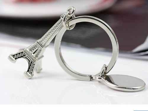 3D креативный стиль ретро мини брелок «Эйфелева башня» брелок Брелок Любовник цепочка для ключей в подарок
