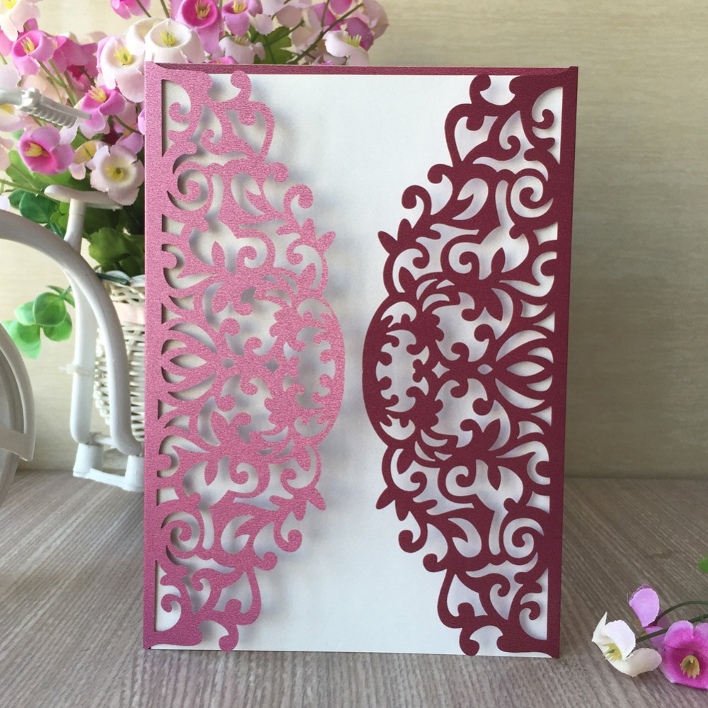 50pcs girl birthday party decoration pearl paper craft