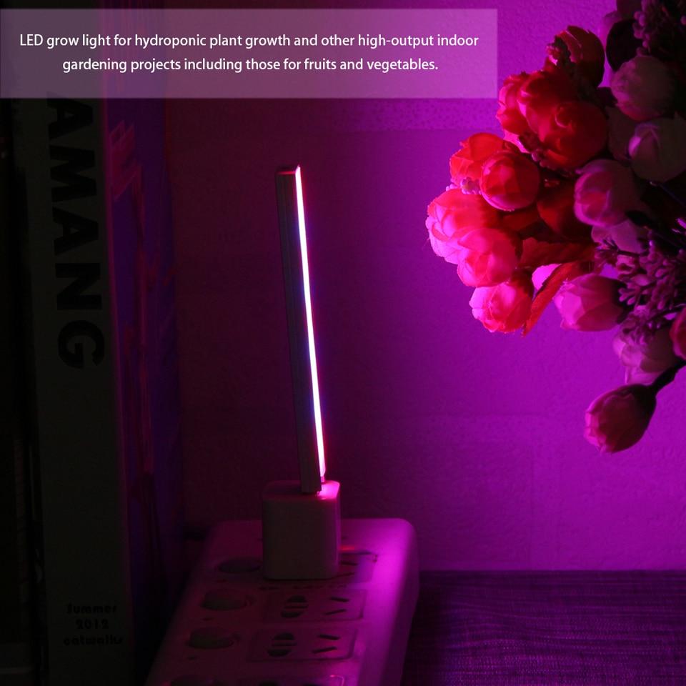 Le Jeune moderne.Salon-Lampe de croissance USB à LED 3w/14 LEDs ou 5w/27 LEDs-Lampe de croissance USB pour plante d'intérieur. Donnez de la lumière à vos plantes pour un croissance optimale. Se branche su toute source USB 5v. Existe en deux longueur : 12cm / 3w avec 14 LED ou 21cm / 5w avec 27 LED.