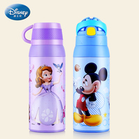 Disney Children S Feeding Cup Large Capacity Thermos Cup With Straw 304 Stainless Steel Mickey Mouse