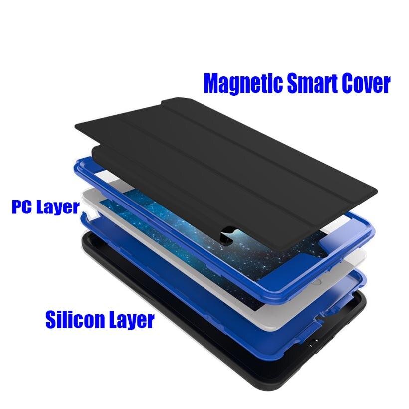 Para iPad Mini 4/3/2/1 Smart Cover + Silicona Estuche rígido de TPU - Accesorios para tablets - foto 4