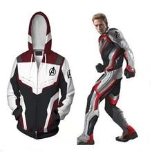 Avengers Endgame  Quantum Realm Hot Movie Sweatshirt Jacket Hoodies Cosplay Costumes Halloween