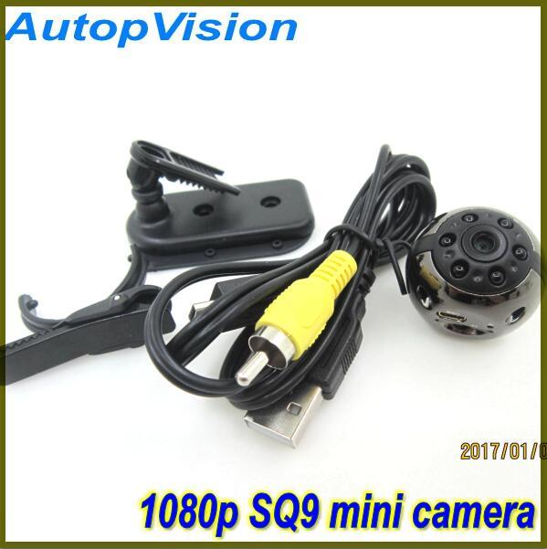 SQ9 Mini Camera Mini DV Recorder HD 1080P 720P Infrared Night Vision Digital Camera Mini Camera Recorder 360 Degree Rotation