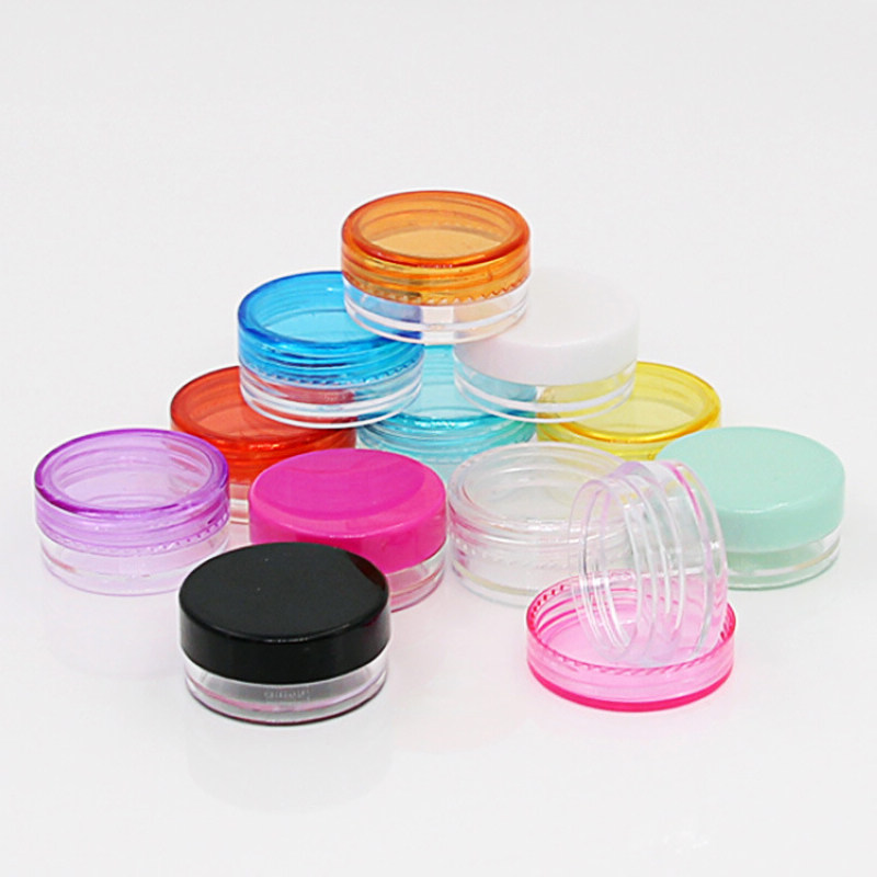 Brand New Acrylic 10pcs 5g Empty Cosmetic Jar Pot Travel Portable Eyeshadow Makeup Face Cream Container Bottle 5 Colors casa reale romanov 400 anni дом романовых 400 лет альбом на итальянском языке isbn 9785905985218