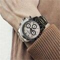 Parnis кварцевые часы с хронографом для мужчин лучший бренд класса люкс Пилот бизнес водонепроницаемый сапфировое стекло наручные часы Relogio ...
