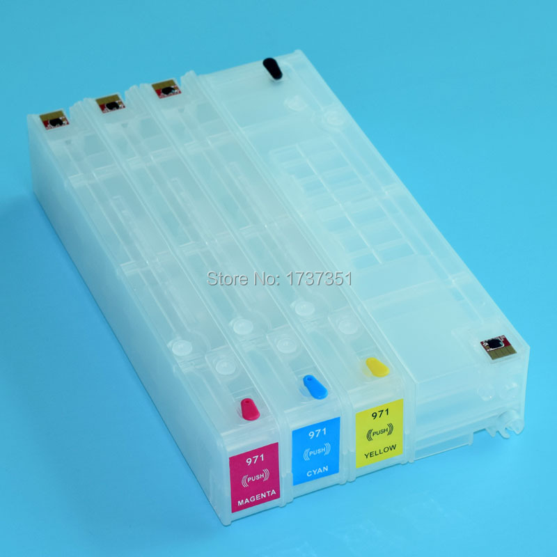 With Auto Reset Chip For HP980 980 ink cartridge for HP Officejet X585dn X585f X585z X555dn