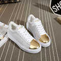 Women casual shoes new fashion mixed colors casual shoes women high quality split leather flat shoes chaussure femme