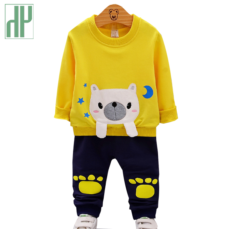 Baby Boy Girl Clothing Set Cotton Kids Toddler Clothes cartoon Infant School Outfits Long Sleeve children clothing girl 1-4Y new baby clothes set toddler infant baby kids boy girl clothes long sleeve t shirt pant legggings outfits set costume