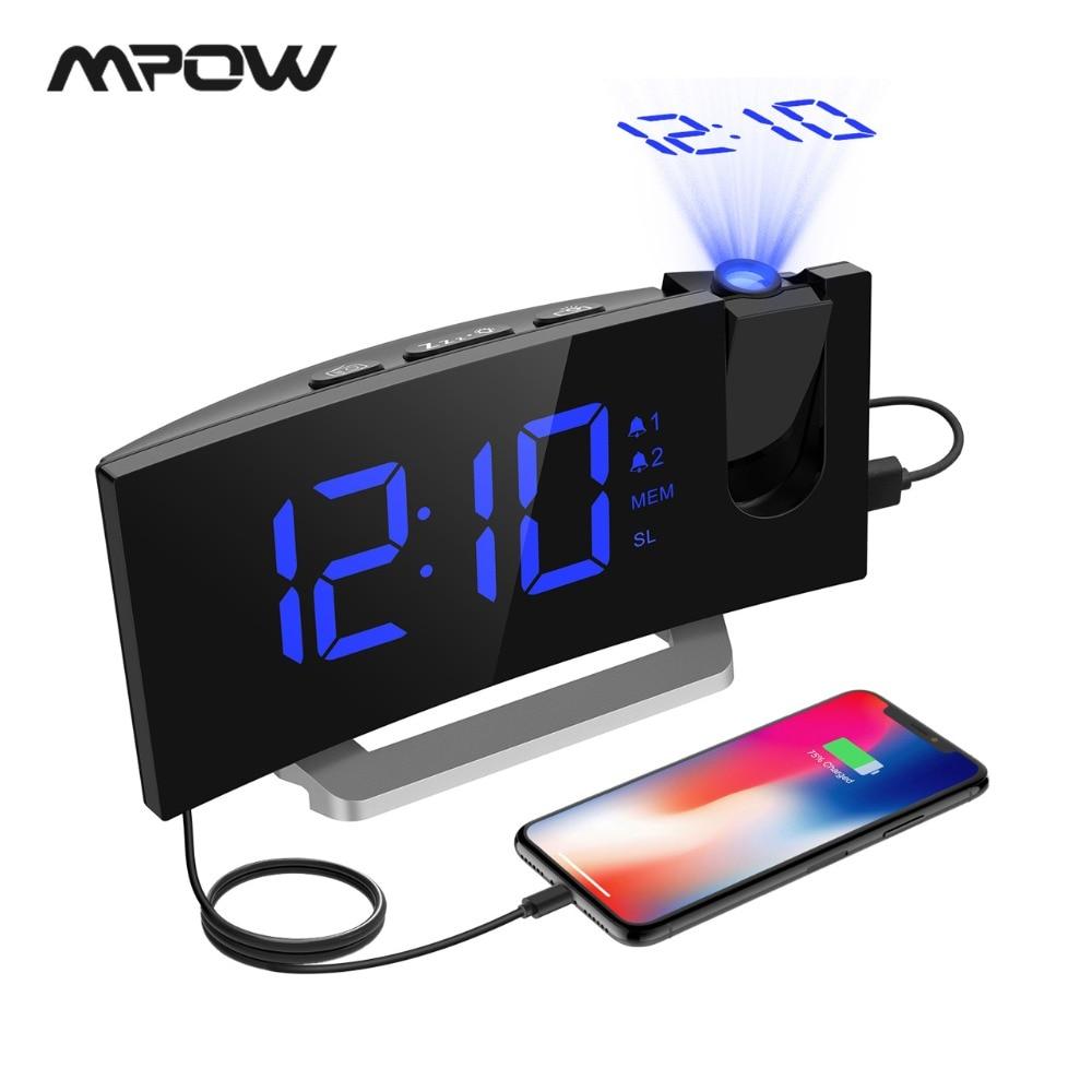 Alarm Clock With Fm Radio Projection