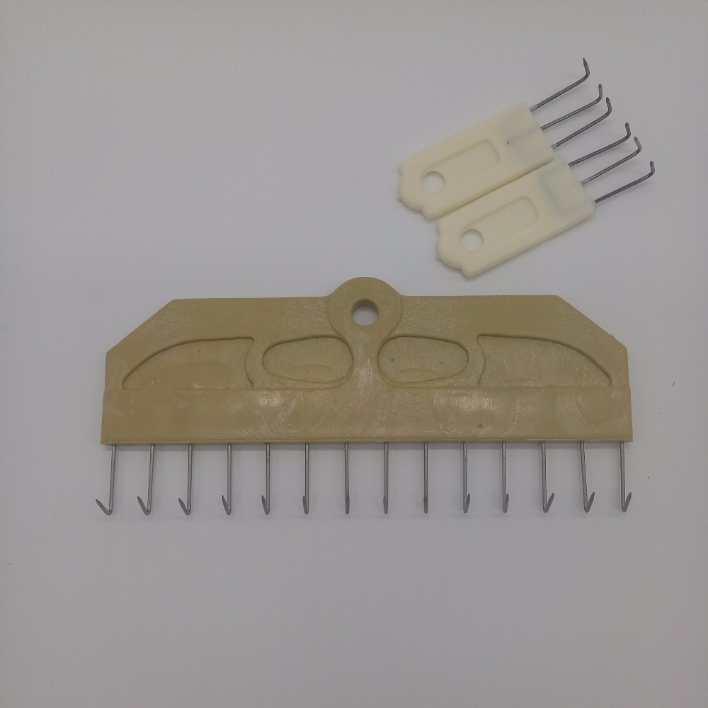 10Pcs Professional Knitting Machine Accessory Claw Weight for Silver Reed Singer