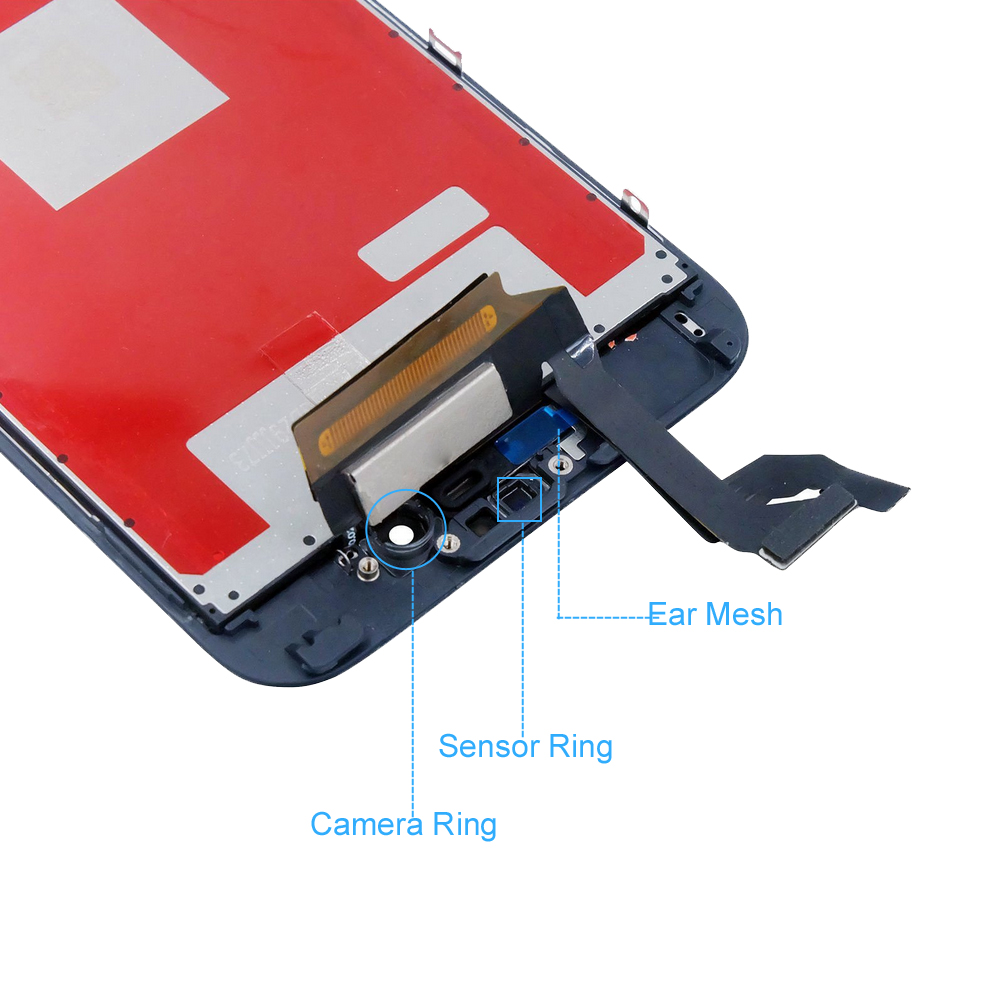 for iPhone 6S Plus LCD Screen Replacement Digitizer Assembly AAA Quality Touch Screen Display for iPhone 6S Plus With Frame in Mobile Phone LCD Screens from Cellphones Telecommunications