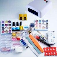 1 مسمار مجموعة eu/us 36 واط إمدادات مجموعة كاملة من المعدات آلة مع مسمار جميل مسمار مجموعة أدوات التجميل