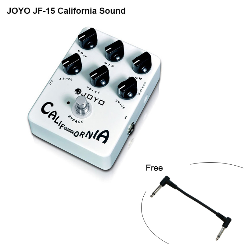 JOYO JF 15 California Sound Electric Guitar Effect Pedal accessories with High gain Lead Sound effect