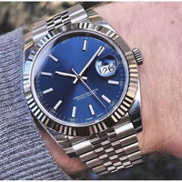 Luxury Brand Mens Watch 41mm SS Watches Men 2813 Mechanical Automatic datejust Top Desinger Mens aaa Watches sports Wristwatches
