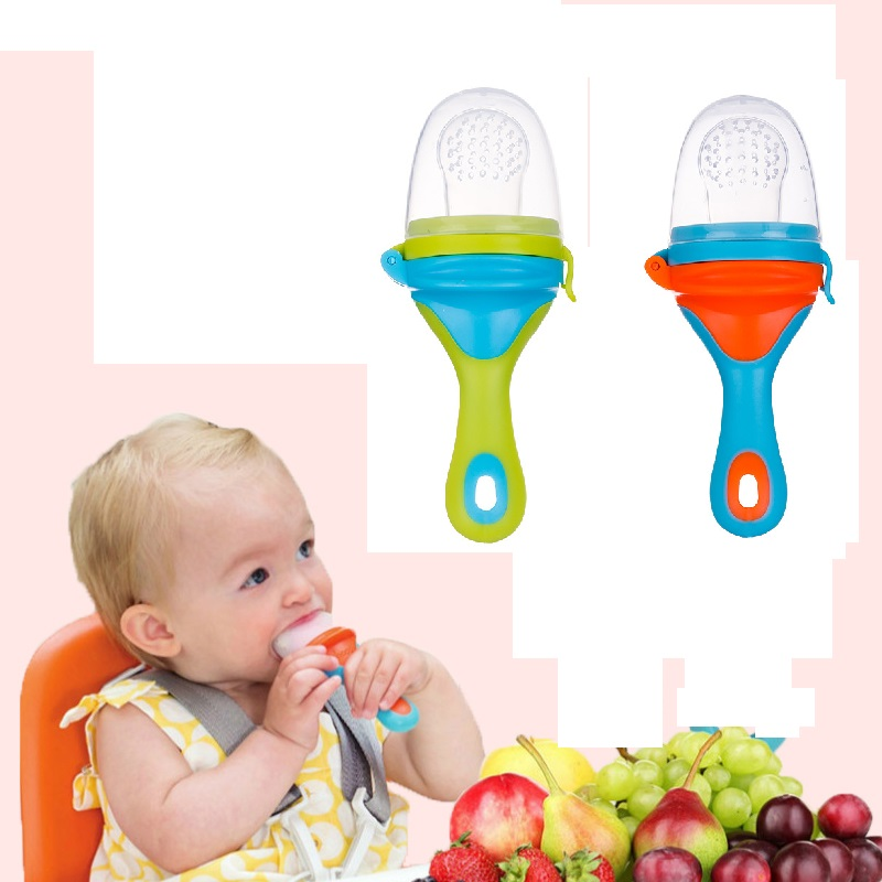Raise Young Silicone Baby Nibbler Newborn Fuit Pacifier Infant Nipple Dummy Toddler Pacifier Feeder Bebes Chupeta Alimentadora Nibbler