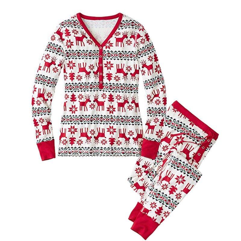 new styles 40d5b a4644 US $7.75 |Weihnachten Parental Anzug Weihnachts Drucken Trainingsanzug  Schlafanzug Frauen Zweiteilige Sätze Hoodie T shirt und Hosen Frauen in ...