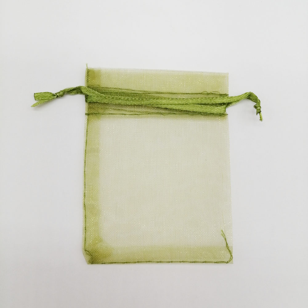 100pcs Organza Bags Army Green Organza Gift Bags For Jewelry Packaging Display Christmas Wedding Jewelry Storage Drawstring Bag
