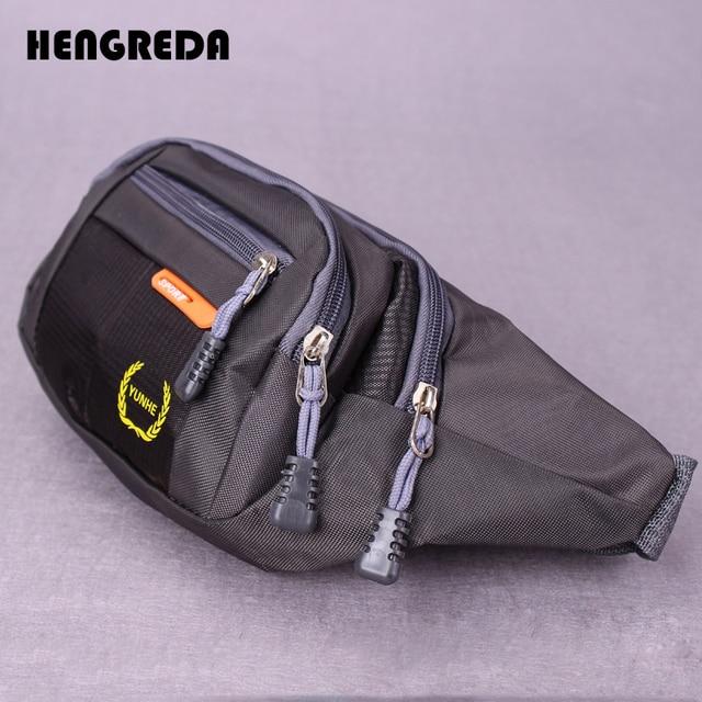 926e0aa0d HENGREDA Durable Fanny paquete de la cintura bolsa con desastre bolsillo  Anti-robo bolsa Fit