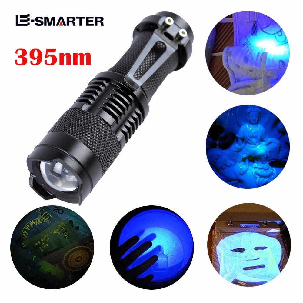 UV Ultra Violet LED Flashlight Blacklight Light 395nM Inspection Lamp Torch