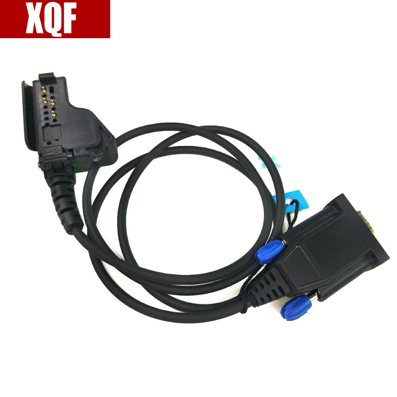XQF RPC-MHT1K Programming Cable For Motorola Walkie Talkie HT1000 MTS2000 XTS3000 GP900 GP9000 XTS350 MTX2000 Ham Radio