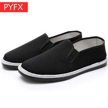 Summer Chinas best-selling old Beijing cloth shoes mens handmade base fabric casual flat bottom non-slip wear-resist work shoe