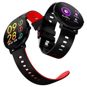 Image 4 - BINSSAW 2019  K9 Smart watch IP68 waterproof IPS Color Screen Heart rate monitor Fitness tracker Sports smartwatch PK CF58 K1