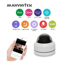 1080P HD Super Mini PTZ IP Camera 5MP Dome Camera Outdoor Vandal-Proof CCTV Security PTZ Cameras 4X Motorized Zoom IR 20M P2P