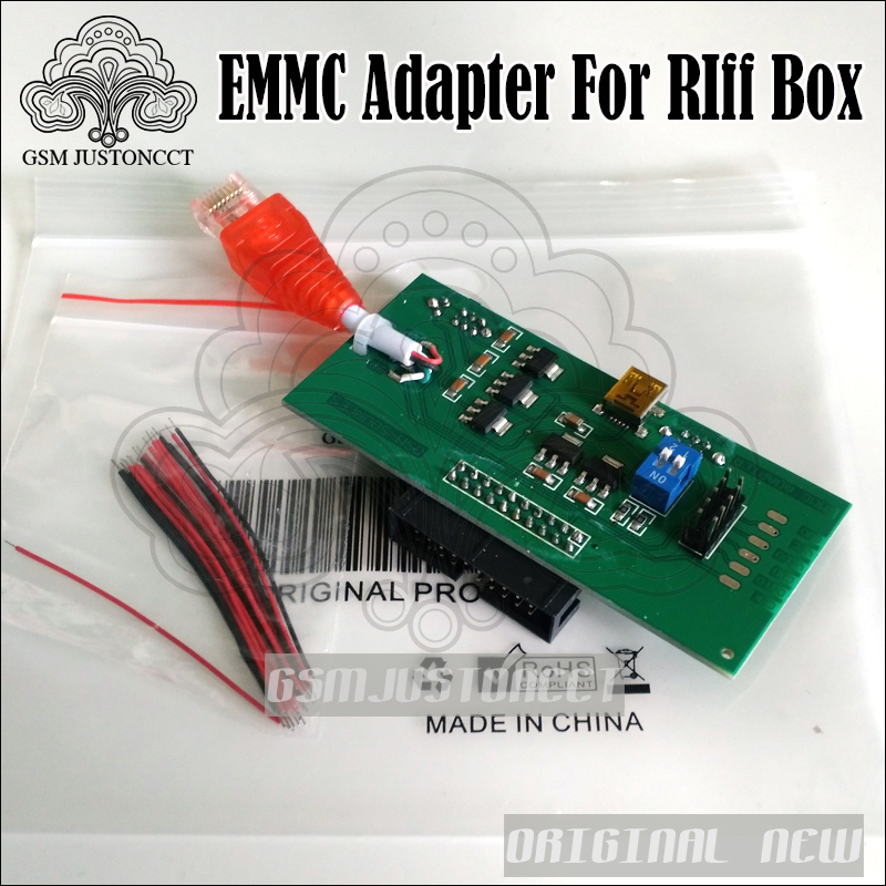 Purposeful 2018 Original New Perform Emmc Work Without Modifying Your Box Emmc Adapter For Riff Box Jtag Software Repair Tools We Take Customers As Our Gods Back To Search Resultscellphones & Telecommunications
