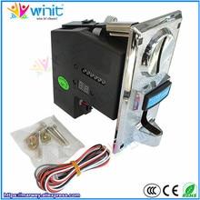 Мульти монетоприемник процессор программируемый 6 Тип устройство для проверки монет электронный селектор механизм Аркада мех для торговый стиральная машина