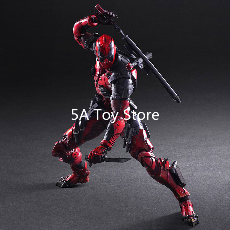 Marvel Universe VARIANT PLAY ARTS KAI Deadpool Ryan Reynolds Ver.PVC Action Figure Collectible Model Toy 26cm play arts kai street fighter iv 4 gouki akuma pvc action figure collectible model toy 24 cm kt3503