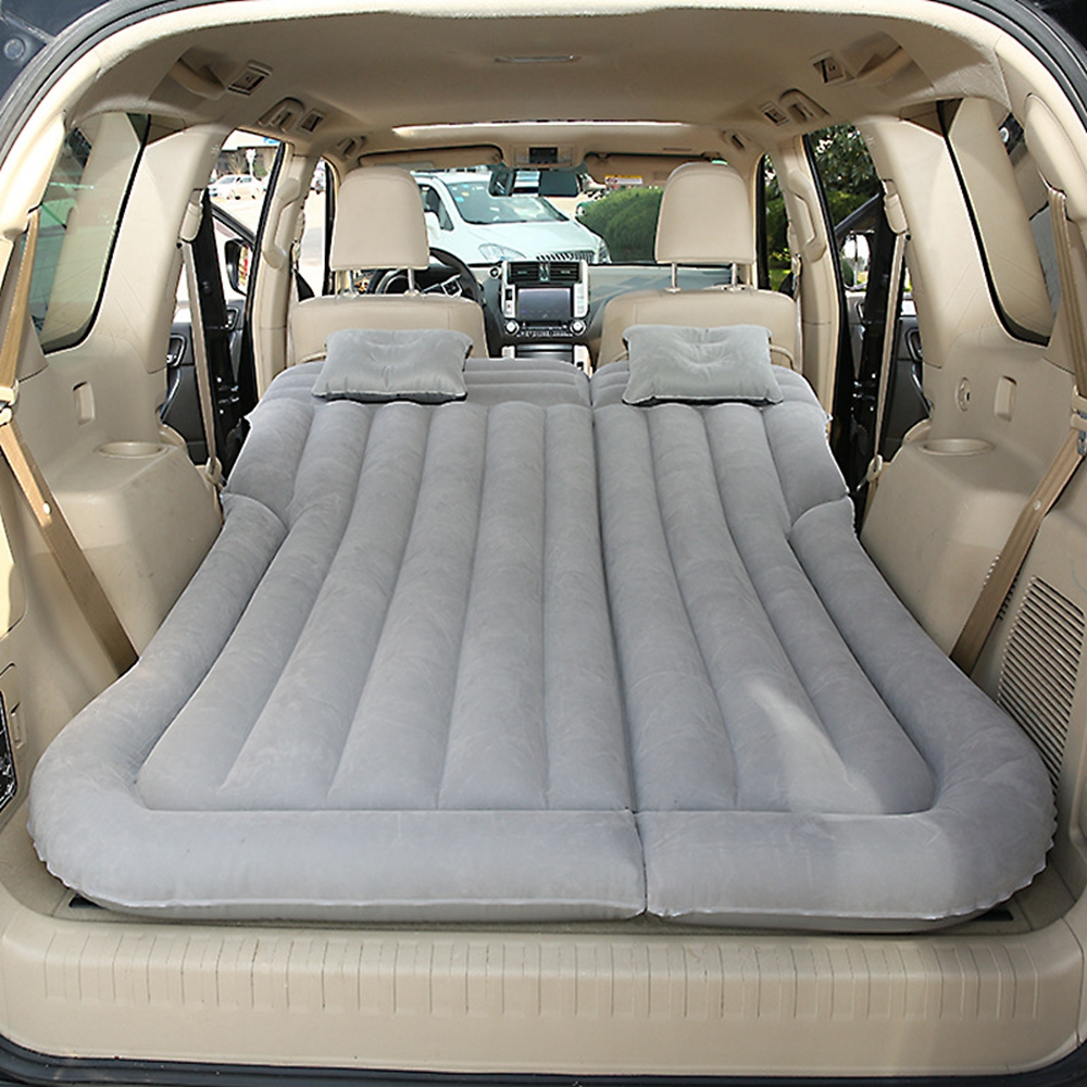 SUV Air Mattress Car Back Seat Bed Portable Travel Airbed Fast Inflatable Outdoor Beach Camping Sleeping Mat and Pads