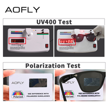 AOFLY BRAND DESIGN Traditional Polarized Sun shades Males Girls Driving Sq. Body Solar Glasses Male Goggle UV400 Gafas De Sol AF8083