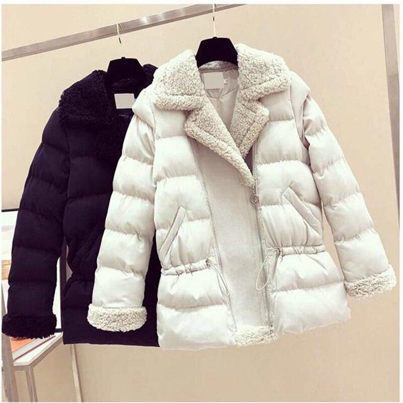 Orwindny Autumn Winter Women   Parka   Fashion Women Jacket Winter Coat Female Warm Casual Short Coats
