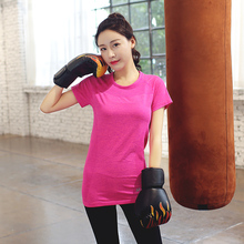 Sexy Women Function Fitness Shirts Professional Running Quick Dry Yoga T-Shirt Compression tights Female Sports Tops Sportswear
