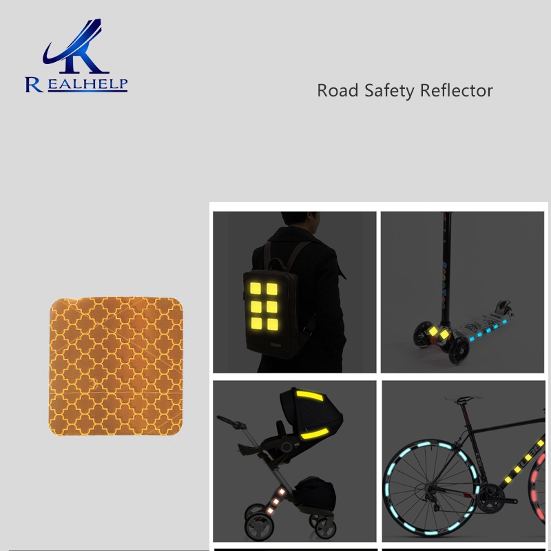 Night Road Reflective Paste Motorcycle Bicycle General Travel Traffic Safety Reflective Paste