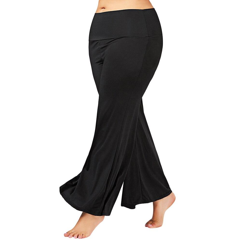 Women Plus Size Yoga Pants Sports Exercise Fitness Running