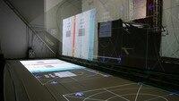 Holographic Phản Ánh Phim, Holo 3D Foil cho Hạt Tiêu của Ghost Ba Chiều, trong kho