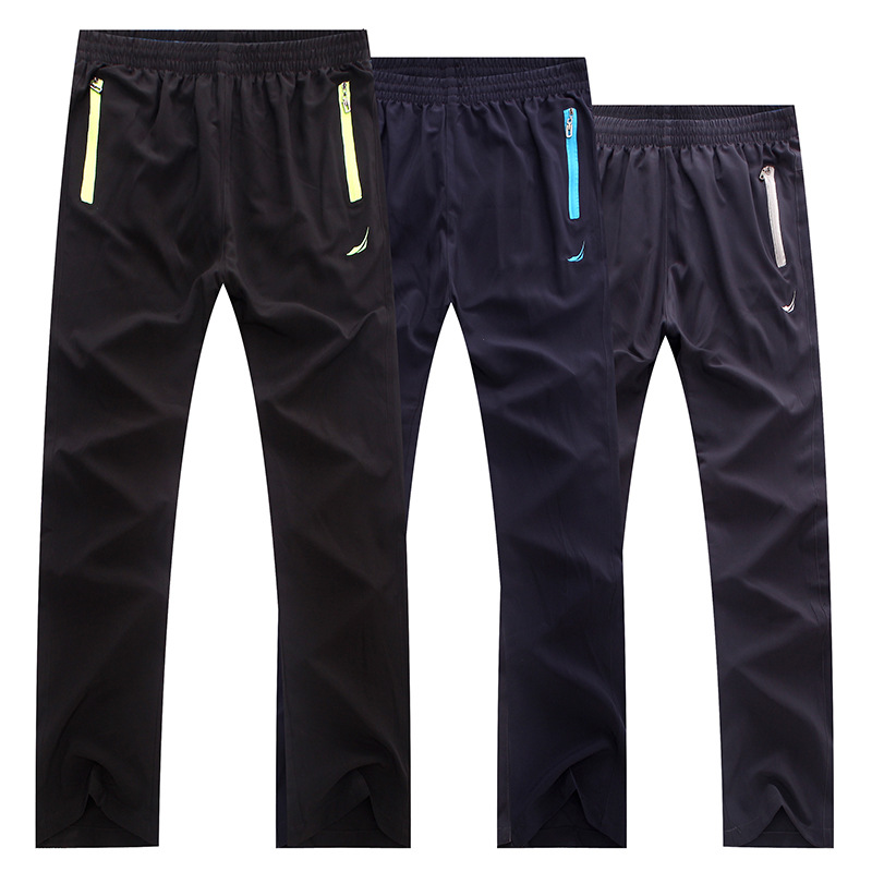 Spring and Autumn Men 39 s Sports Pants Straight Trousers Trainning Exercise Outdoor Youth Single layer 1028 in Trainning amp Exercise Pants from Sports amp Entertainment