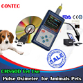 "Hand-held Pulse Oximeter SpO2 Monitor,veterinary use,blood oxygen, CMS60D VET1.8"" Color OLED display de dedo"