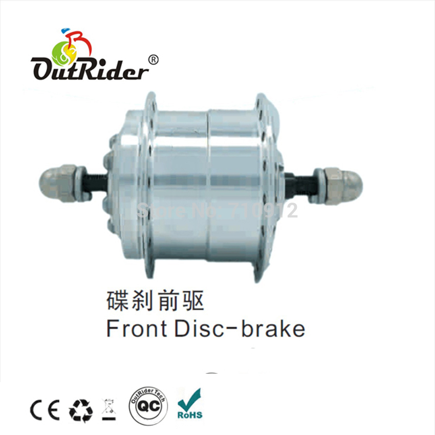 Free Shipping Outrider Super Mini Hall DC Motor 36V 250W Front Disc-brake electric bike CE Approved OR01B18