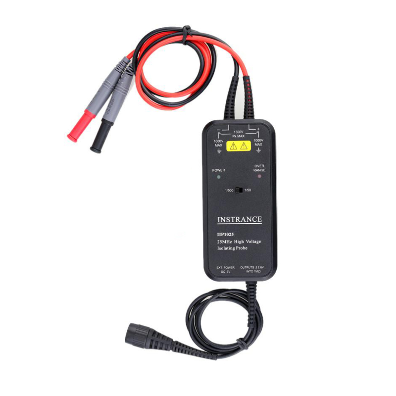 Image 2 - Oscilloscope probe 1300v High Voltage Isolated Differential Probe 25mhz 50mhz 100mhz-in Oscilloscope Parts & Accessories from Tools